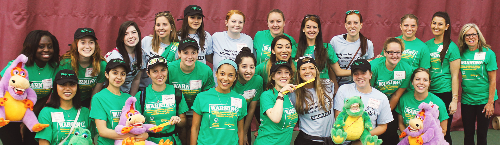 Special Smiles for Special Olympics Athletes