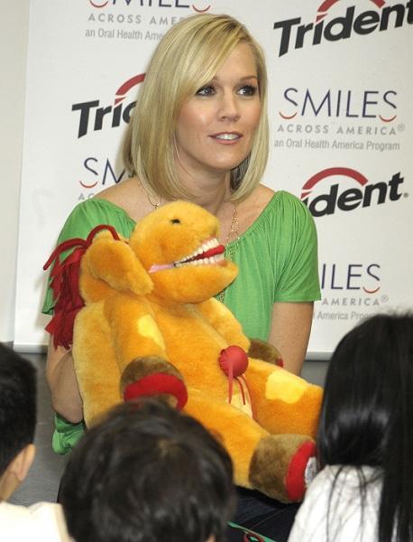 Jennie Garth with StarSmilez