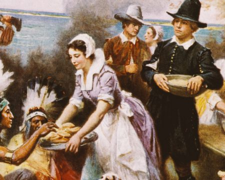 Pilgrims, Indians, and the First Teeth to Eat a Thanksgiving Feast