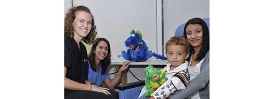 starsmilez puppets, dental care