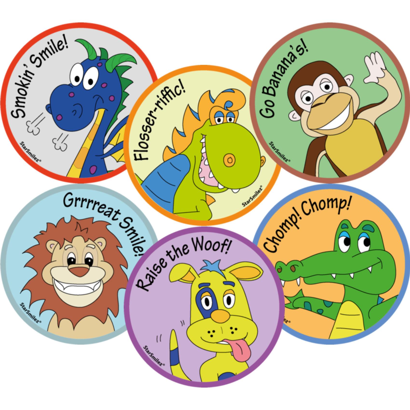 Patient Reward Stickers