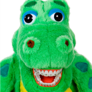 Orthodontic Al E Gator with Braces