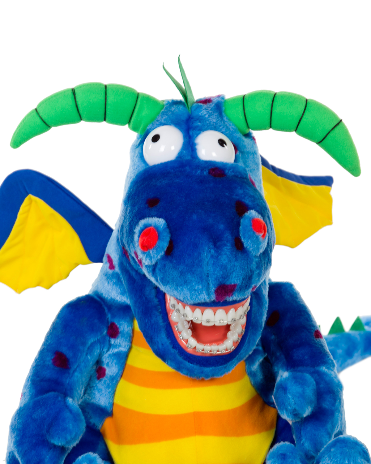 Orthodontic Magi Dragon with Braces