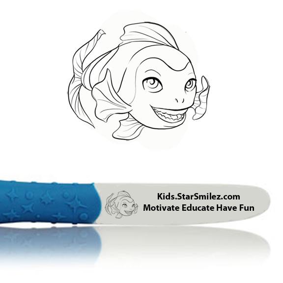 Finn Fish Starz Toothbrush
