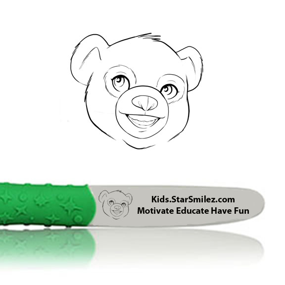Cubby Bear Starz Toothbrush