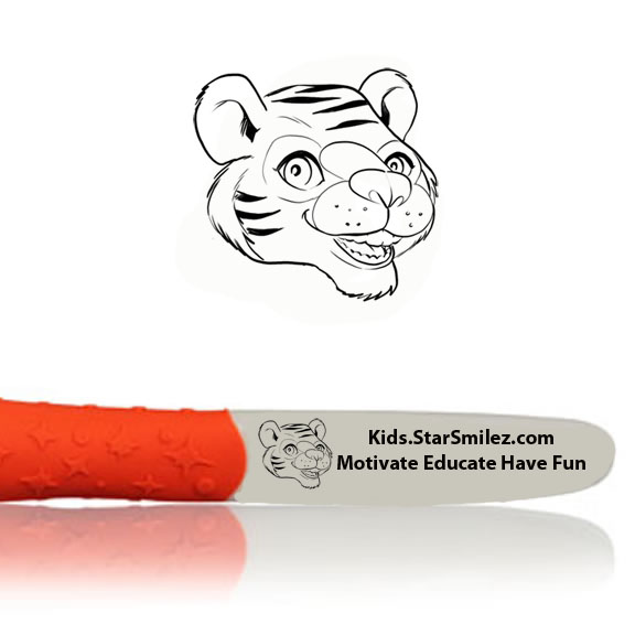 Tiger Starz Toothbrush