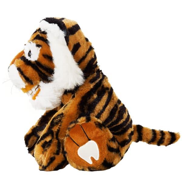 plush dental education pal lil tango tiger