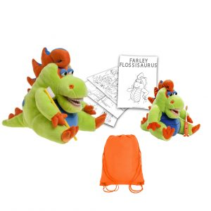 Farley Flossisaurus Presentation Package